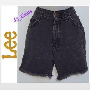 Vintage Cut Off Denim Shorts Cloth Female